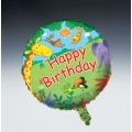 Jungle Buddies Party 18&quot; Foil Balloon